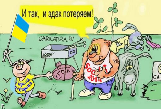 Россия теряет Украину