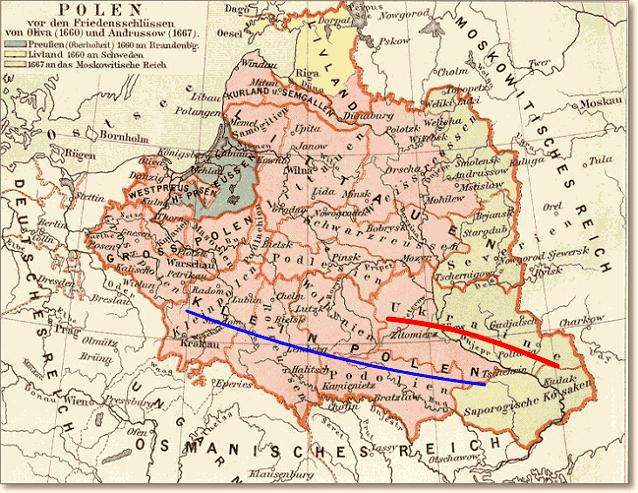 Украина как часть Klein Polen, то есть Малой Польши