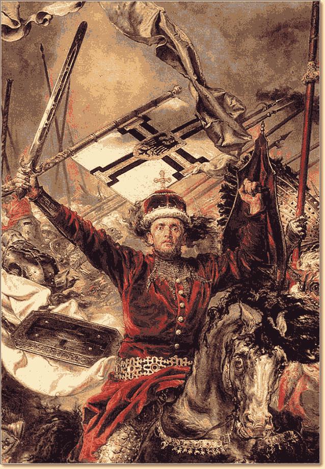 Грюнвальдская битва Матейко