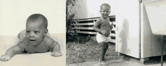 Обама детство