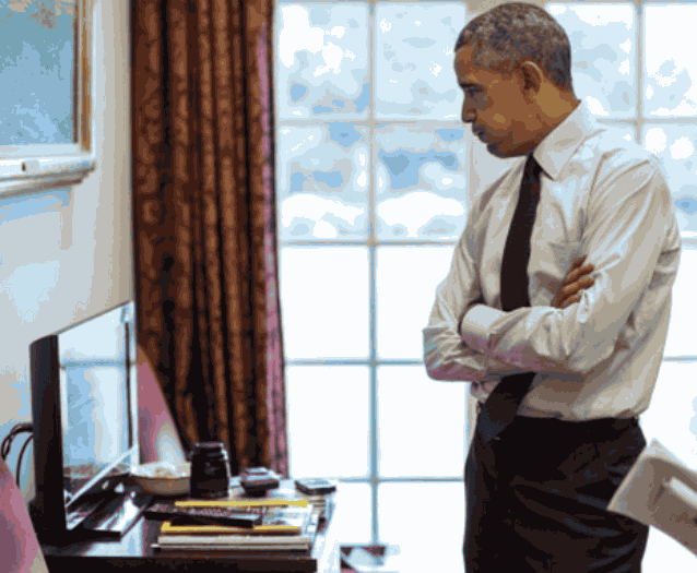Обама думает