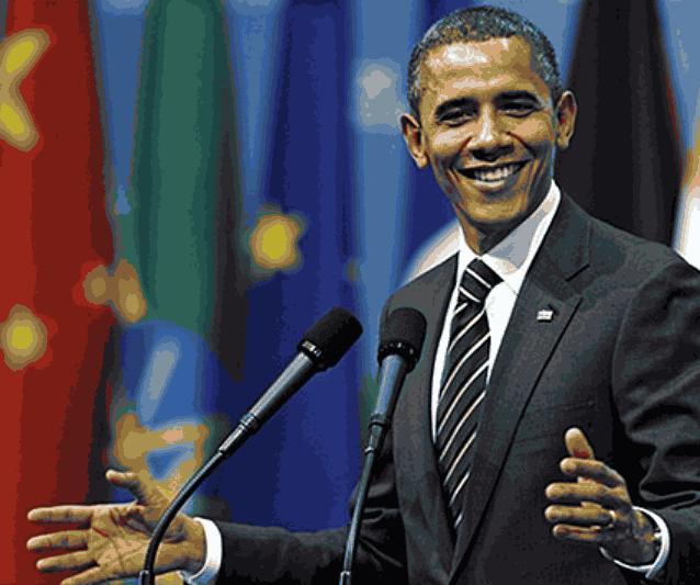 Обама жесты