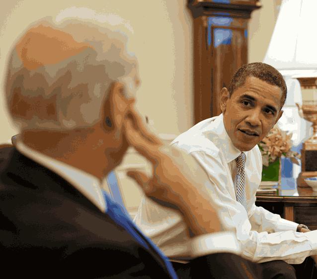 Обама Джо Байден