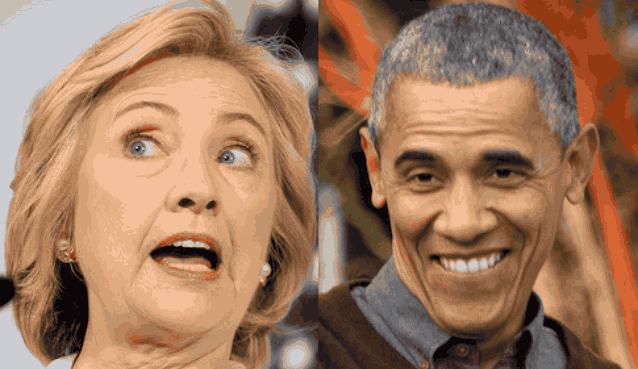 Хиллари и Барак