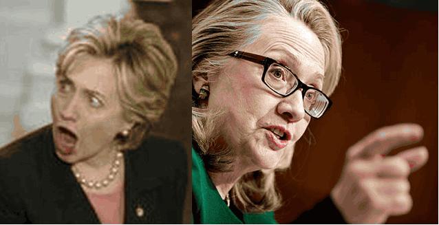 Хиллари Клинтон мимика и жесты