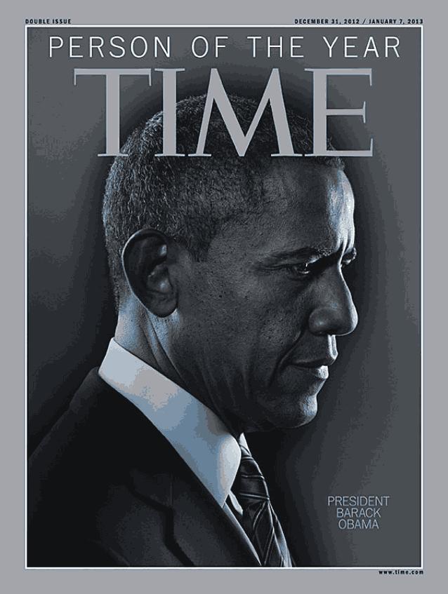 Обама на обложке Time