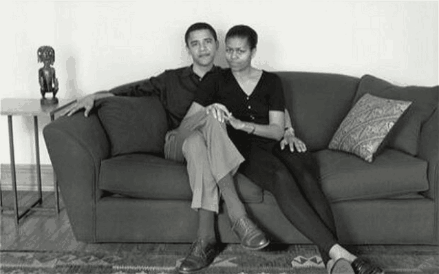 Барак и Мишель Обама