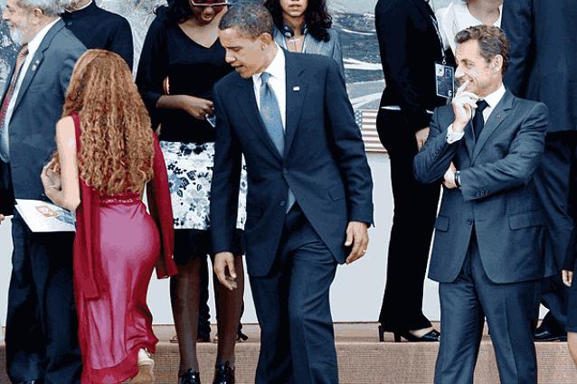 Обама женщины