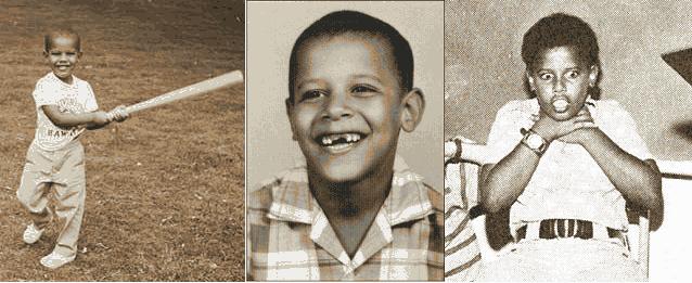 Обама мальчик