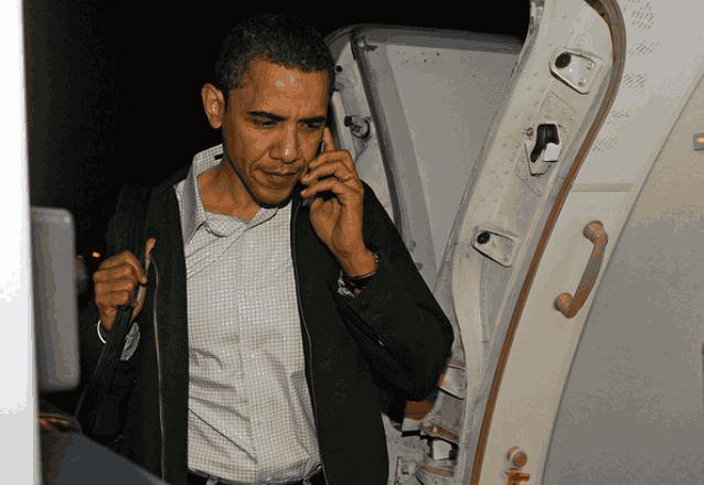 Обама телефон