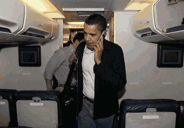 телефонный звонок Обама