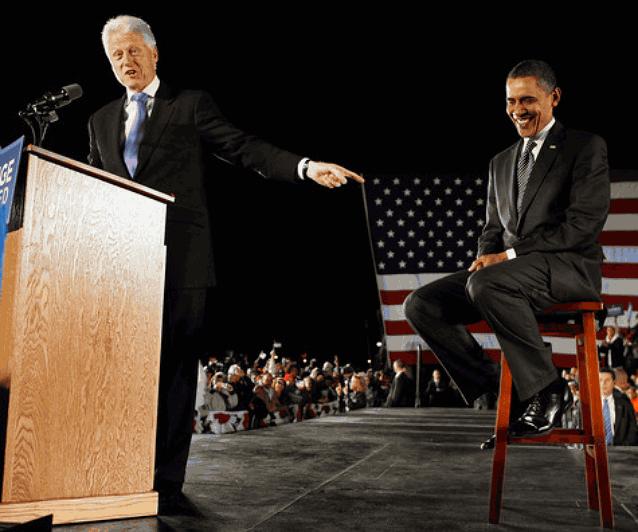 Билл Клинтон выступление за Обаму