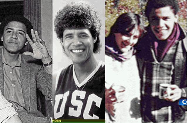 Обама юноша
