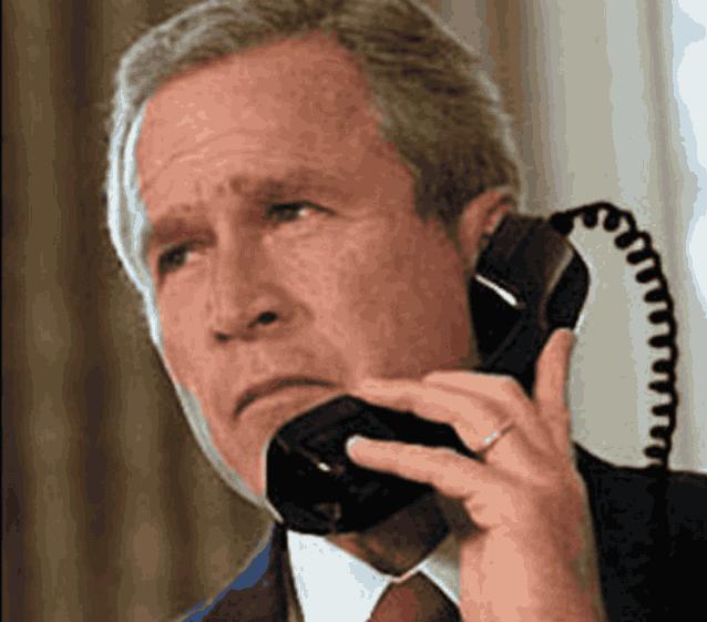 Джордж Буш телефон