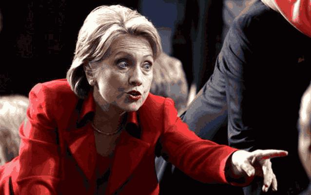 Хиллари Клинтон жесты