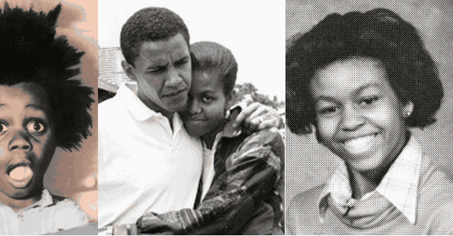 Обама Мишель фото