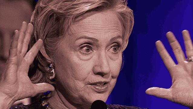 Хиллари Клинтон руки