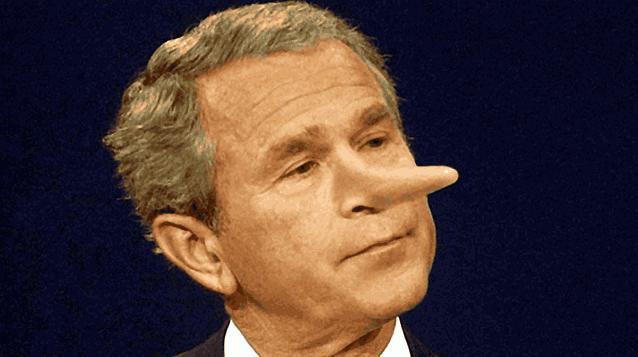 Джордж Буш врет