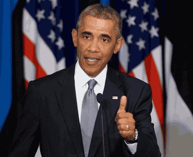 Барак Обама жесты