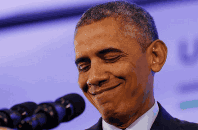 гримаса Обамы