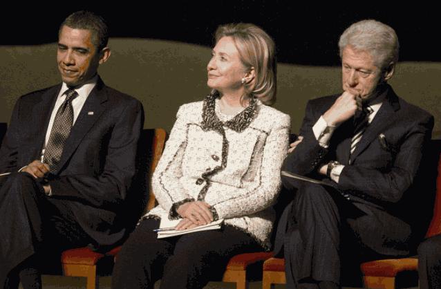 Обама Клинтон Хиллари