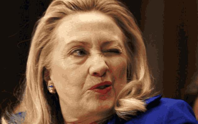 Хиллари Клинтон мимика