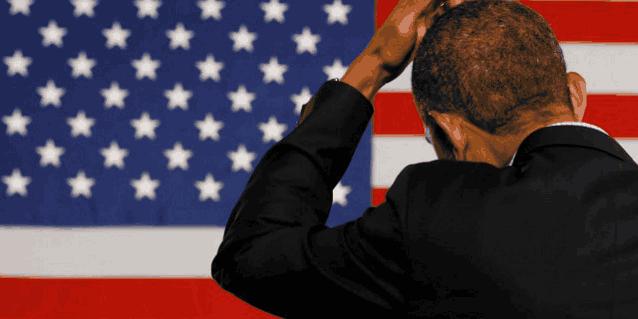 Обама чешет затылок
